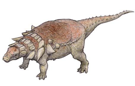 エドモントニア(Edmontonia ) 恐竜のデジタル図鑑